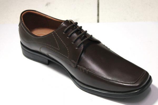 Zapatos de Vestir Hombre Derby Marrón