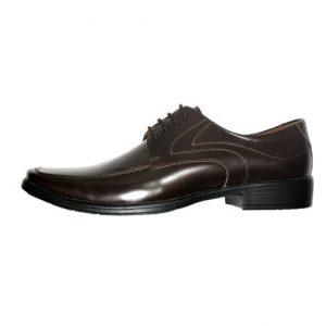 Zapatos de Vestir hombre Derby marron